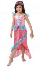 Childs Deluxe Mermaid Princess Costume